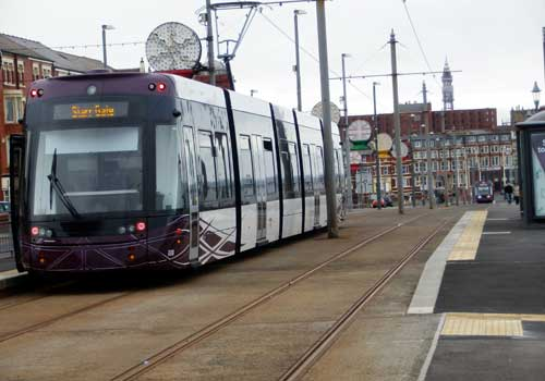 Blackpool New Tram April 2012
