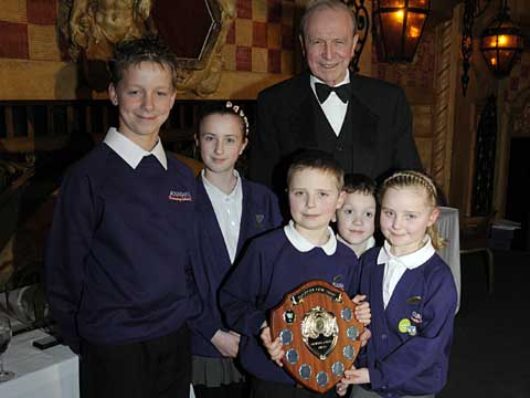 Boundary School prize winners