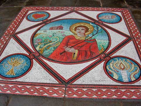mosaic at St Stephens