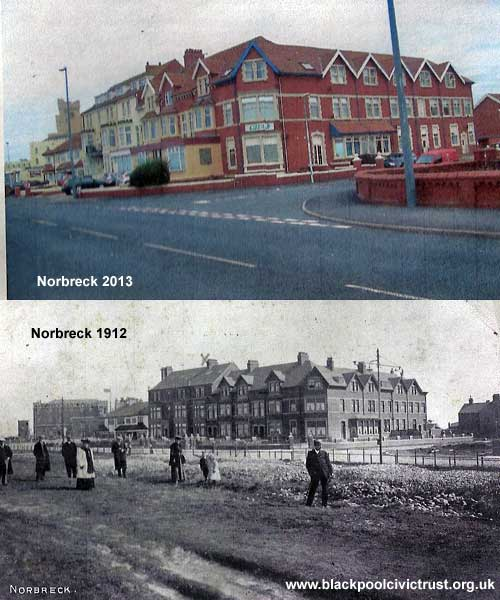 Norbreck 1912 and 2013