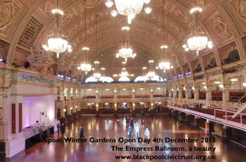 Blackpool Winter Gardens Empress Ballroom