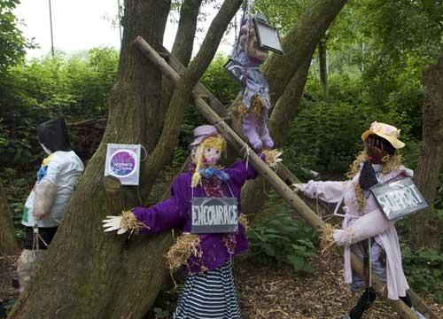 Lancashire Women's Centre scarecrow