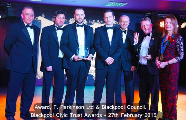 F Parkinson & Blackpool Council Award