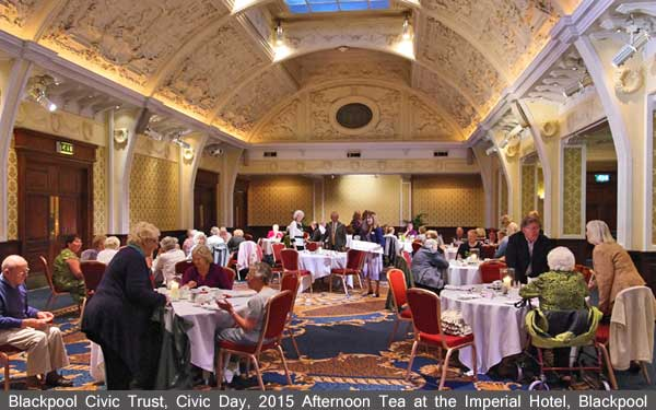 Blackpool Civic Day 2015, Afternoon Tea at the Imperial Hotel