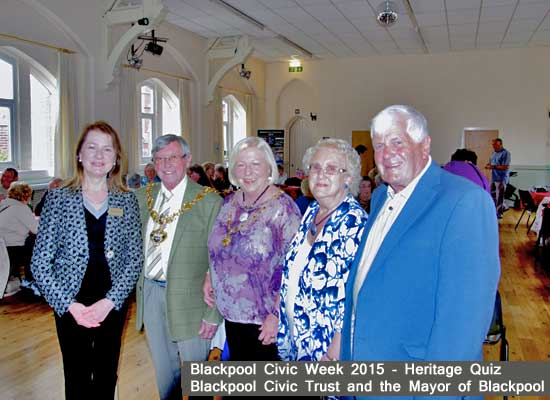 Blackpool Civic Week - Heritage Quiz