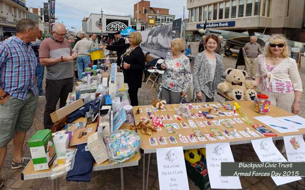 Blackpool Civic Trust at Armed Forces Day 2015