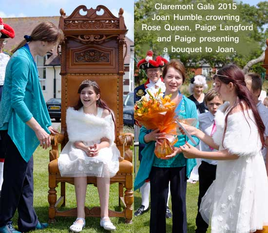Claremont Gala Rose Queen 2015 Paige Langford