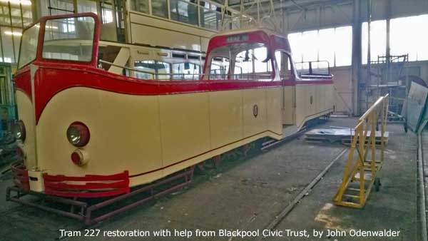 Blackpool Civic Trust Heritage Tram Project