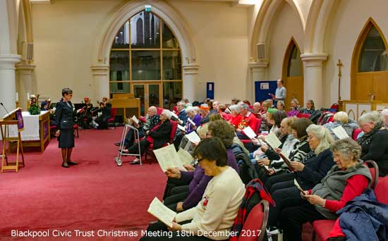 Blackpool Civic Trust Christmas Meeting
