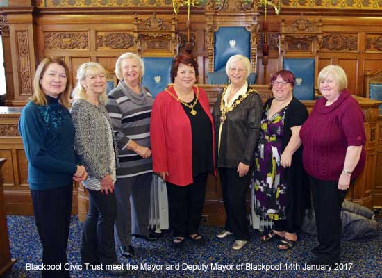 Visit with the Mayor of Blackpool