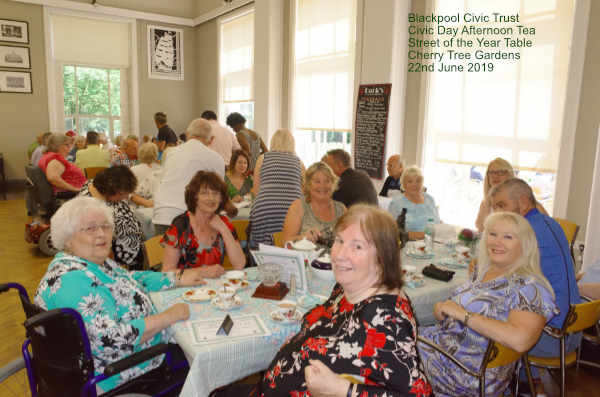 Blackpool Civic Trust - Civic Day 2019  Afternoon Tea