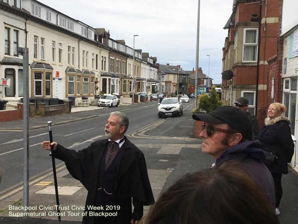 Blackpool Civic Trust - Civic Week 2019  Supernatural Ghost Tour